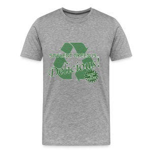 Soylent Green is...Delicious! - Men's Premium T-Shirt