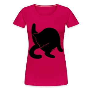 Black + - Women's Premium T-Shirt