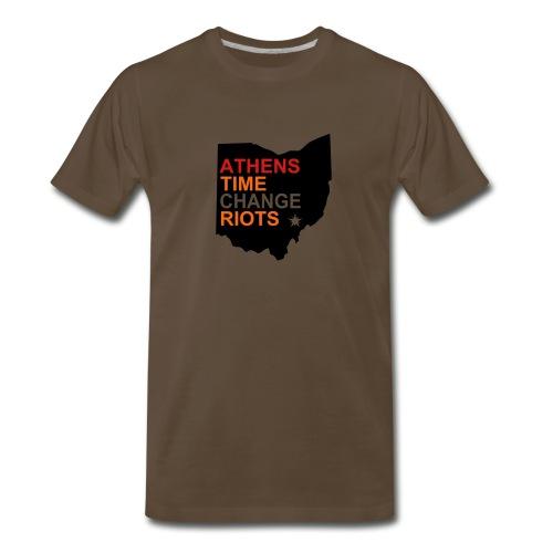 Athens Time Change Riots 1997 & 1998 - Men's Premium T-Shirt