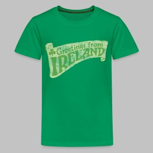 Old Greetings From Ireland - Kids' Premium T-Shirt