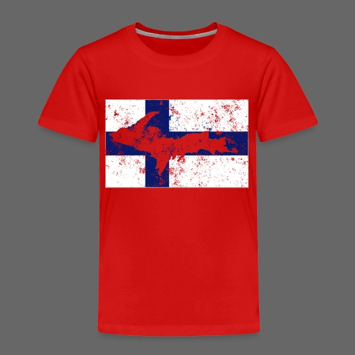 Finnish Flag U.P. - Toddler Premium T-Shirt