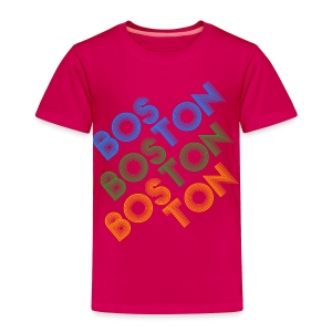 Boston Cubed - Toddler Premium T-Shirt