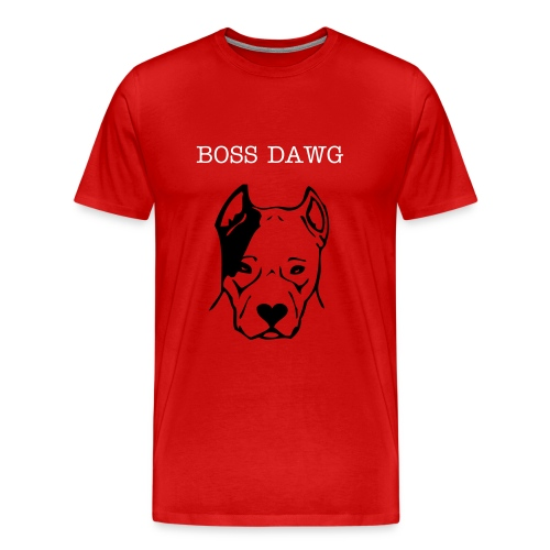 Boss Dawg TEEE - Men's Premium T-Shirt