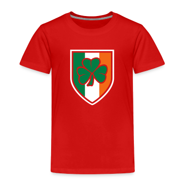 irish crest Toddler Shirts