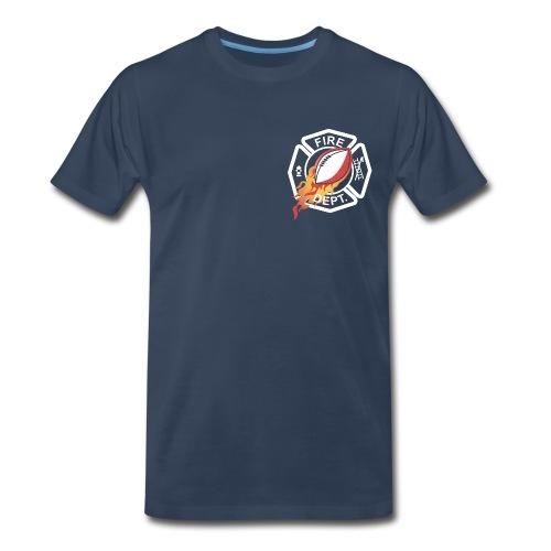 Fireman Logo for dark shirts - Men's Premium T-Shirt