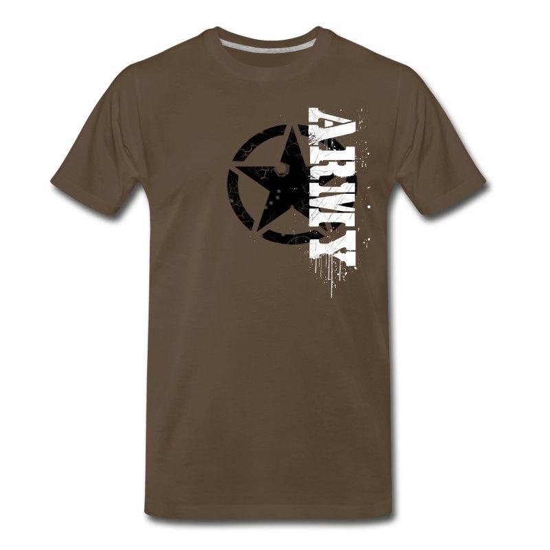 Custom army logo t shirt spreadshirt for T shirts with custom logo
