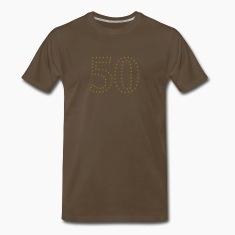 dotted number 50 (1c) T-Shirts