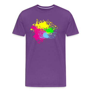 Paint Splatter - Grafitti Graphic Design - Multi-Color