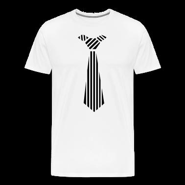 tie Design T-Shirts