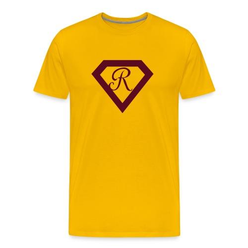 Super R--Gold - Men's Premium T-Shirt