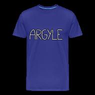 T-Shirts ~ Men's Premium T-Shirt ~ ARGYLE shirt