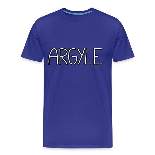 ARGYLE shirt - Men's Premium T-Shirt
