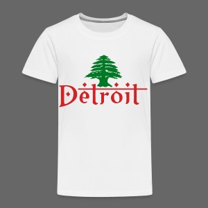 Detroit Lebanese Flag - Toddler Premium T-Shirt