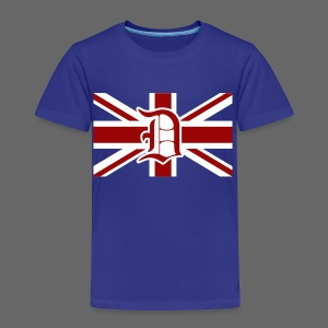 Detroit British Flag - Toddler Premium T-Shirt