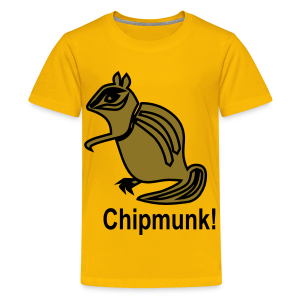 Chipmunk - Kids' Premium T-Shirt