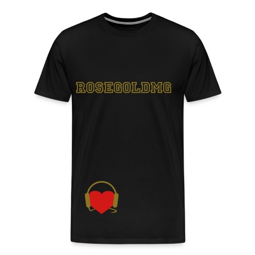 I heart RoseGold - Men's Premium T-Shirt