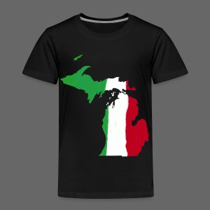 Michigan Italian Flag - Toddler Premium T-Shirt