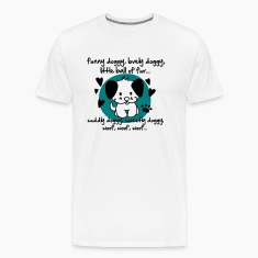 funny doggy, lovely doggy, little ball of fur T-Shirts