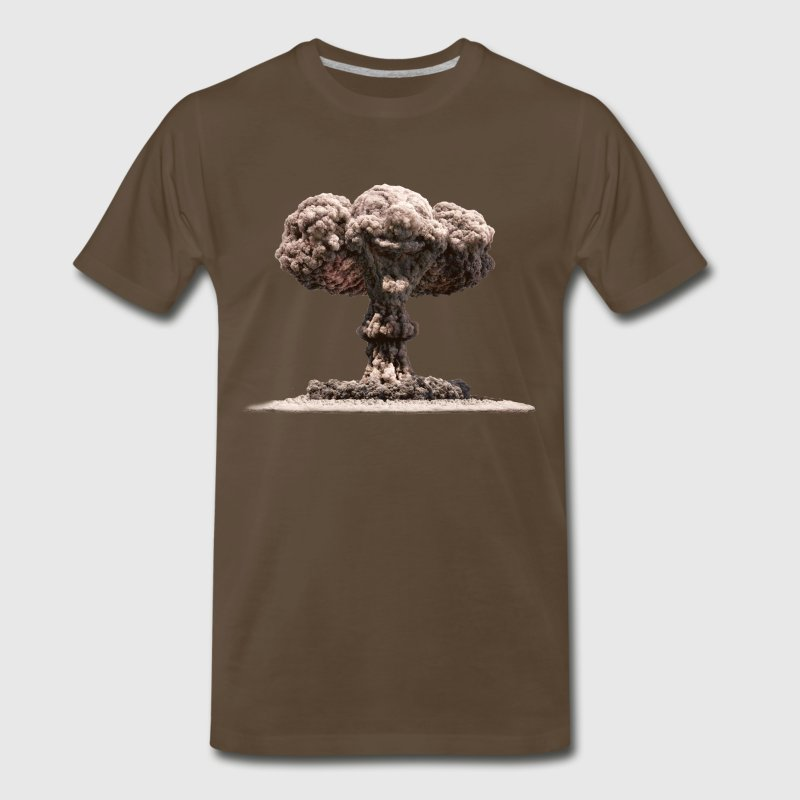 Nuclear Explosion (2 Sided) - Men's Premium T-Shirt