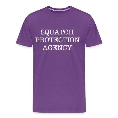 Squatch Protection Agency - Men's Premium T-Shirt
