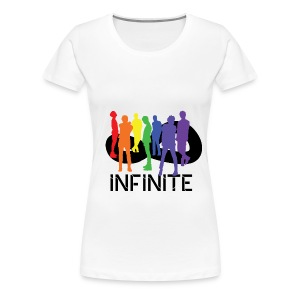 iNFINITE- Rainbow Women's Plus Tee - Women's Premium T-Shirt