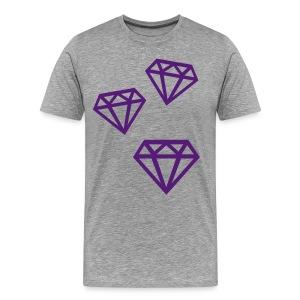 Three Diamonds - Men's Premium T-Shirt