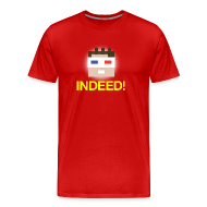 T-Shirts ~ Men's Premium T-Shirt ~ INDEED! Men's Heavyweight