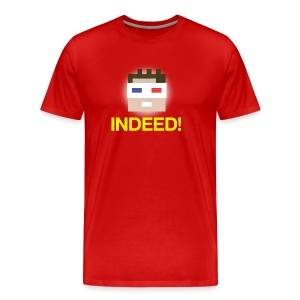 INDEED! Men's Heavyweight - Men's Premium T-Shirt