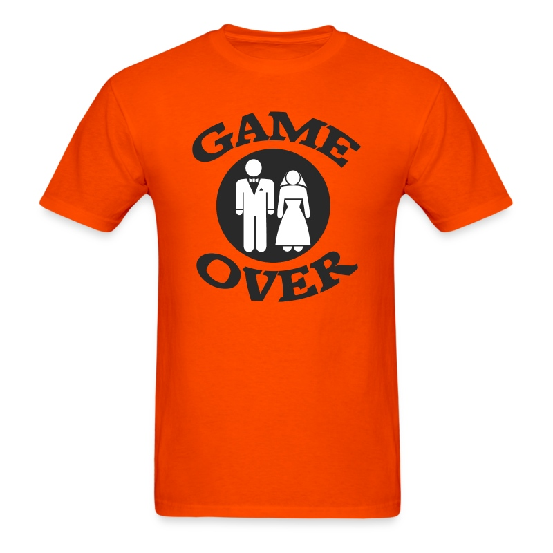 Game over design t shirt spreadshirt for T shirt design game