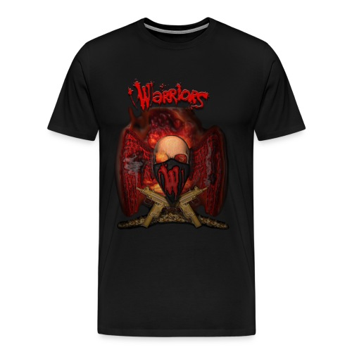 Warriors Silver Or Lead - Men's Premium T-Shirt
