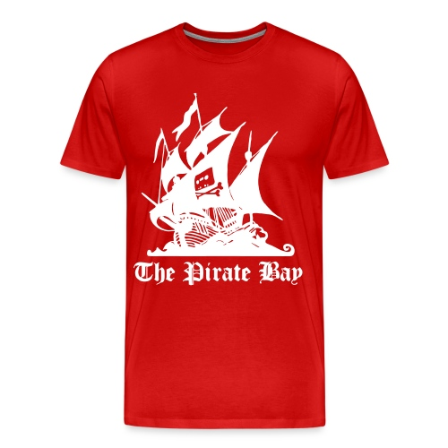 The Pirate Bay Logo Vector T-Shirt - Men's Premium T-Shirt