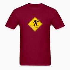 Bowler Caution traffic sign
