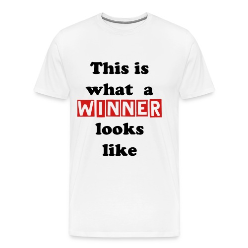 A Winner - Men's Premium T-Shirt