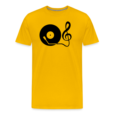 clef_turntable T-Shirts