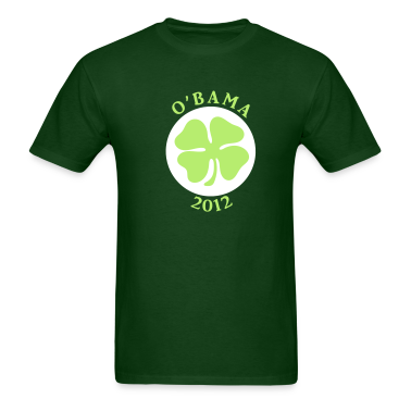 Irish O'Bama 2012