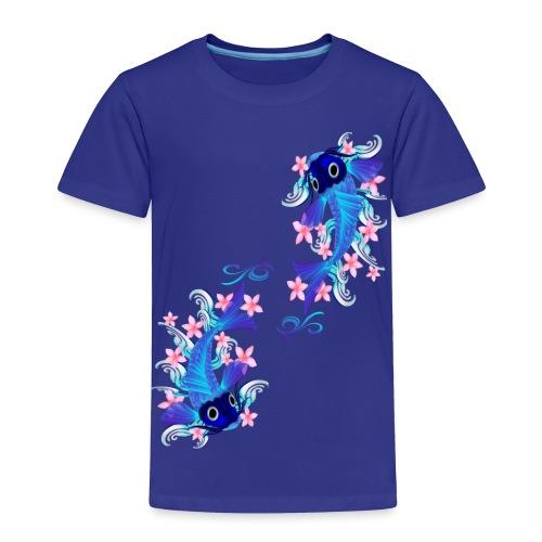 Two Blue Koi  - Toddler Premium T-Shirt