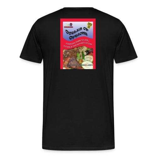 THE OFFICIAL OODLES OF OPTIONS TEE - MEN 3x-4x - Men's Premium T-Shirt