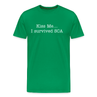 T-Shirts ~ Men's Premium T-Shirt ~ I Survived!