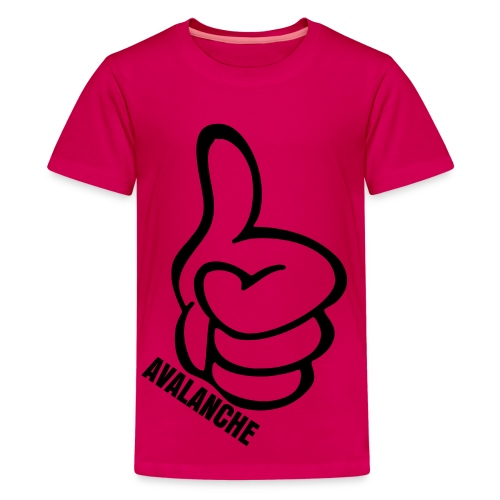 Kids Thumbs Up Tee Pink - Kids' Premium T-Shirt
