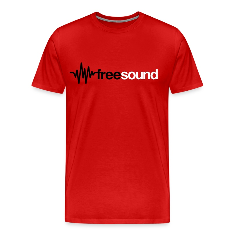 freesound_logo_tshirt - Men's Premium T-Shirt