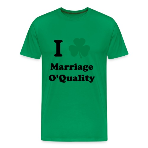 Marriage O'Quality 2012 - Men's Premium T-Shirt