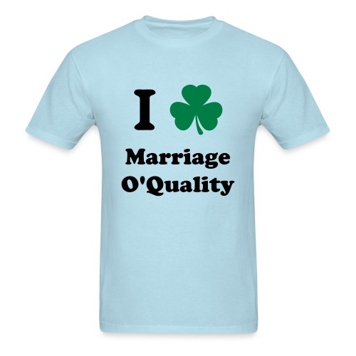 Marriage O'Quality 2012 - Men's T-Shirt