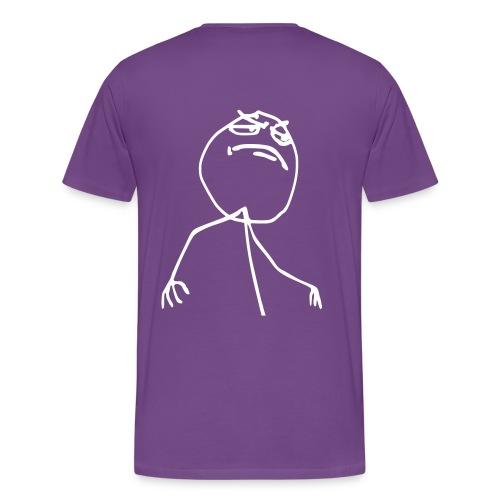 I Take Showers Naked - Men's Premium T-Shirt