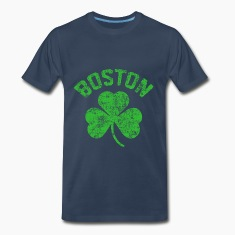 Boston Green T-Shirts