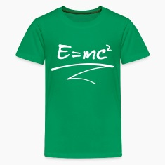 E = mc² Kids' Shirts