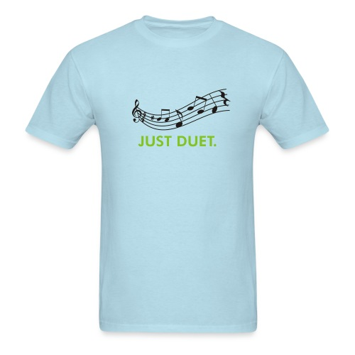 Just Duet, Musical Note T-shirt - Men's T-Shirt