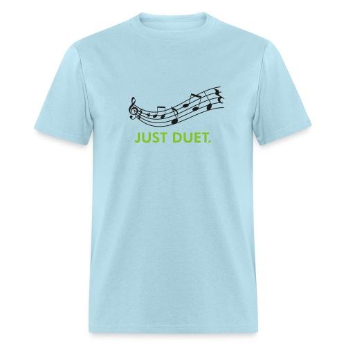 Just Duet, Musical Note T-shirt - Men's T-Shirt