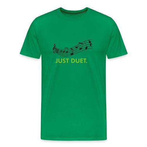 Just Duet, Musical Note T-shirt - Men's Premium T-Shirt