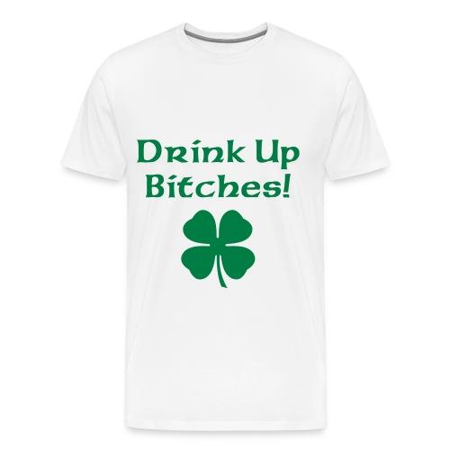 Drink Up - Men - Men's Premium T-Shirt