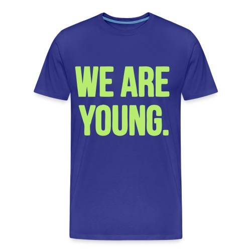 We are young - Men's Premium T-Shirt